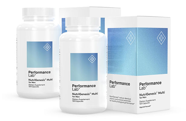 Performance Lab Nutrigenesis Multi for Men Two Boxes