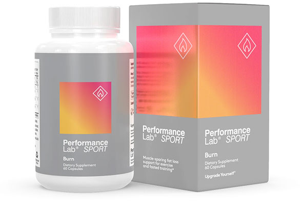 Performance Lab Burn with Stim Caffeine Pills stack combo
