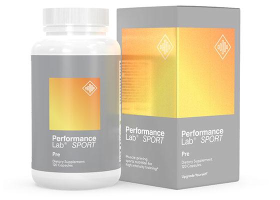 Performance Lab Pre Workout with Caffeine Pills (Stim)