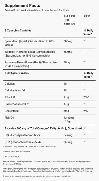Relief Factor Ingredients
